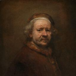 Rembrandt self portrait age 63