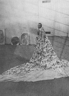 Sigmar Polke large cloth of abuse